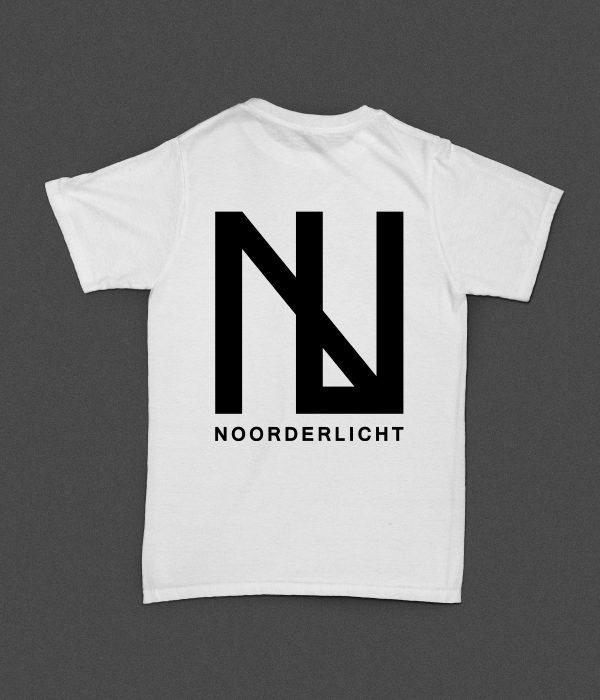 Noorderlicht Logo T-Shirt Achterkant